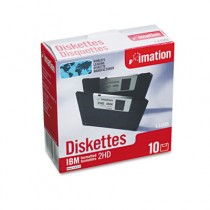 "3.5"" Floppy Diskettes, IBM-Formatted, DS/HD"