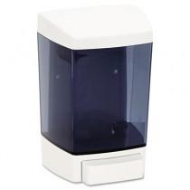 Plastic Soap Dispenser, 46-oz, 5-1/2w x 4-1/4d x 8-1/2h, White