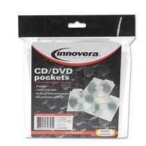 CD/DVD Pockets, 25/Pack