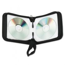 CD/DVD Wallet, Holds 24 Disks, Black