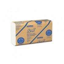 SCOTT SCOTTFOLD Towels, 9 2/5 x 12 2/5, White