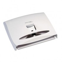 WINDOWS IN-SIGHT Toilet Seat Cover Dispenser, 17 1/2 x 3 1/4 x 13 1/4, White