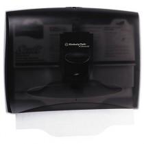IN-SIGHT Toilet Seat Cover Dispenser, 17 1/2 x 3 1/4 x 13 1/4, Smoke/Gray