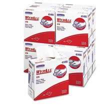 WYPALL X70 Wipers, POP-UP Box, 9 1/10 x 16 4/5, White
