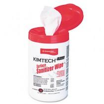 KIMTECH PREP Surface Sanitizer Wipe, 12 x 12, White