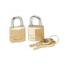 """Three-Pin Brass Tumbler Locks, 3/4"""" Wide"""