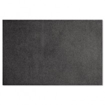 EcoGuard Indoor/Outdoor Wiper Mat, Rubber, 48 x 72, Charcoal