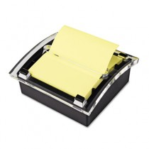 Clear Top Pop-up Note Dispenser for 3 x 3 Self-Stick Notes, Black