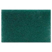 Heavy Duty Scour Pad, Green, 6 x 9