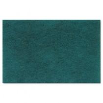 Medium Duty Scour Pad, Green, 6 x 9