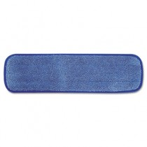 Microfiber Wet Room Pad, Split Nylon/Polyester Blend, 18""