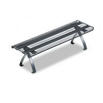 Wire Mesh Off-Surface Shelf, 26 x 7 x 7, Black