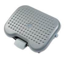 Height-Adjust Tilt Footrest, 18-1/8w x 14-1/4d x 4-1/8 to 6-5/8h, Charcoal