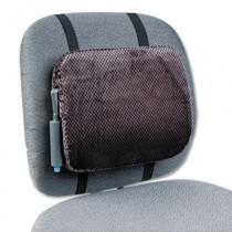 Adjustable Backrest w/Pushbutton Pump, 12-7/8w x 2-3/4d x 10-3/4h, Gray