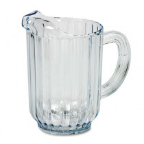Bouncer Plastic Pitcher, 60-oz, Clear