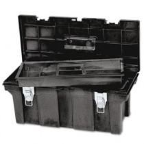 "Industrial 26"" Tool Box, Black"