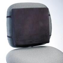 Back Perch w/Fleece Cover, 13w x 2-3/4d x 12-1/2h, Black