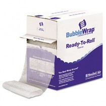 "Bubble Wrap, Cushion Bubble Roll, 1/2"" Thick, 12"" x 65ft"