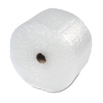 "Bubble Wrap Cushioning Material In Dispenser Box, 5/16"" Thick, 12"" x 100ft"