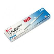 Premium Self-Adhesive Paper File Fasteners, Two Inch Capacity, 100/Box