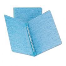 Side Opening PressGuard Report Cover, Prong Fastener, Letter, Blue