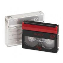 Premium Grade DVC Camcorder Videotape Cassette, 60 Minutes