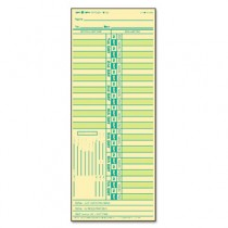 Time Card for Lathem, Bi-Weekly, Two-Sided, 3-1/2 x 9, 500/Box