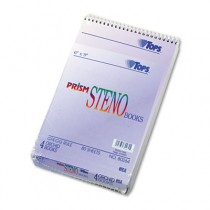 Spiral Steno Notebook, Gregg Rule, 6 x 9, Orchid, 4 80-Sheet Pads/Pack