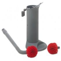 Ergo Toilet Bowl Brush System w/Holder