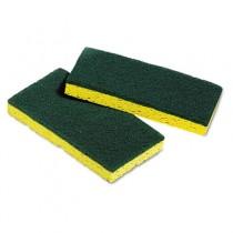 Medium-Duty Scrubbing Sponges, 3-3/8 x 6-1/4, 5 Sponges/Pack