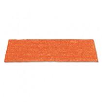 """Microfiber Wet Mop, Nylon Backing, Green Fringe, 19.5"""""""