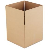 Corrugated Kraft Fixed-Depth Shipping Carton, 18w x 18l x 16h, Brown