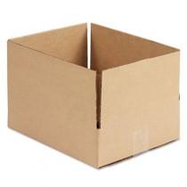 Corrugated Kraft Fixed-Depth Shipping Carton, 10w x 12l x 3h, Brown