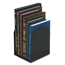 Bookends, Magnetic, 6 x 5 x 7, Metal, Black