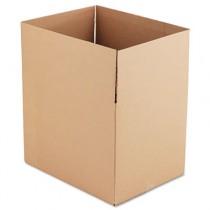 Corrugated Kraft Fixed-Depth Shipping Carton, 18w x 24l x 18h