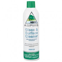 Aspire Glass & Surface Cleaner, Lemon Scent, 16 oz. Aerosol Can