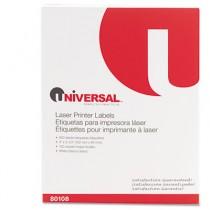 Laser Printer Permanent Labels, 3-1/3 x 4, White, 600/Box