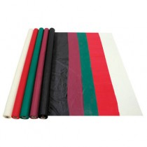 "Plastic Tablecovers, 40"" x 100ft, Hunter Green"