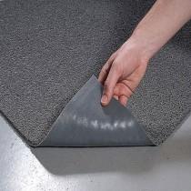 Spaghetti Vinyl-Loop Floor Mat, Vinyl, 36 x 60, Gray