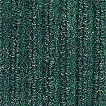 Needle-Rib Wiper/Scraper Mat, Polypropylene, 36 x 48, Green/Black