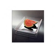Resposables Serving Trays, Clear, 13w x 9d x 1h