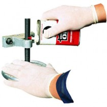 Disposable Latex Gloves, Cornstarch Powdered, General Purpose, Medium, 100/Box