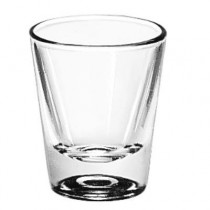 Whiskey Service Drinking Glasses, Whiskey, 1-1/4 oz., 2-3/8 Inch Height
