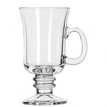 Warm Beverage Drinking Glasses, Irish Coffee, 8-1/2 oz., 5-7/8 Inch Height