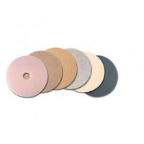 Ultra High-Speed TopLine Floor Burnishing Pads 3200, 27-Inch, White/Amber